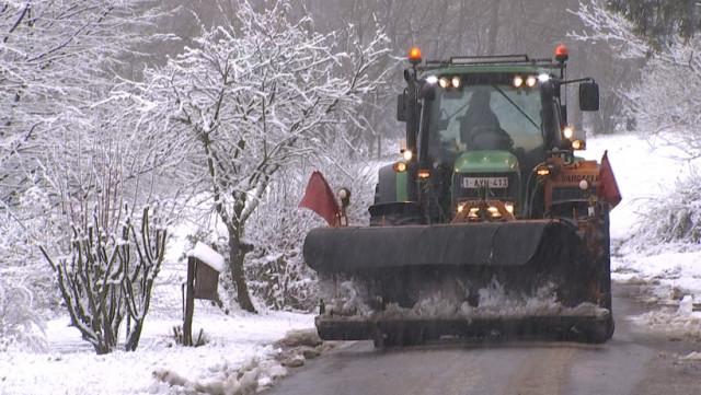 Première offensive hivernale: la neige s'invite furtivement