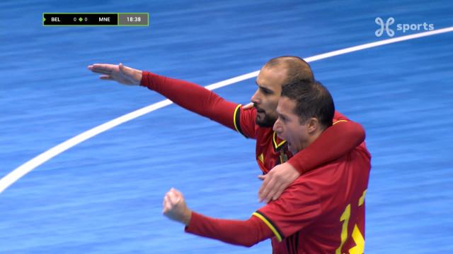 Première victoire pour les Diables Rouges Futsal dans les qualifications pour l'Euro 2022