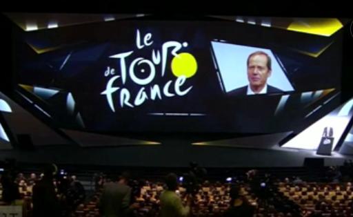 Présentation du Tour de France 2017 à Paris