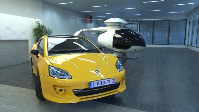 Voiture de sport et hélicoptère chez Dimma Design