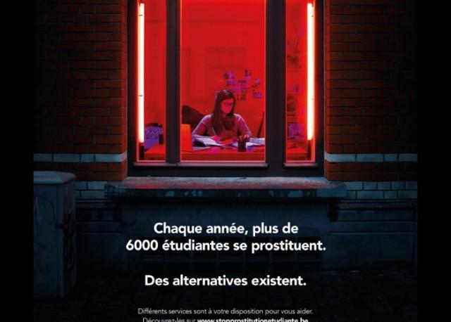 Prostitution: plus de 6000 étudiantes belges concernées