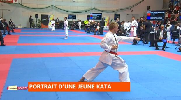 Province sport : portrait d'une jeune kata