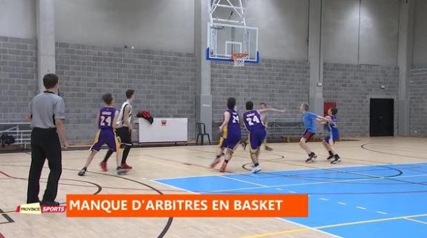 Province Sports : Basket : pénurie d'arbitre