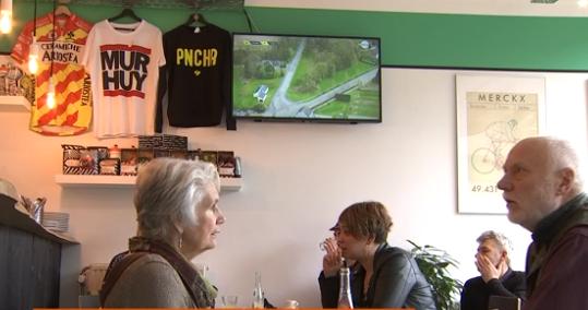 Province sports : un cyclo-café à Huy