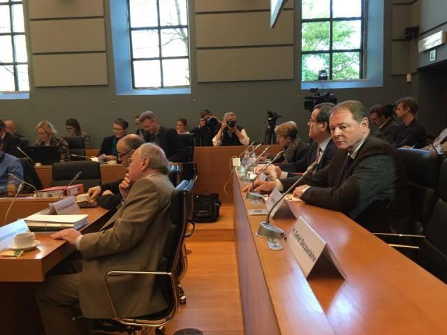 Publifin : les présidents de fédération (PS, MR, cdH et Ecolo) entendus