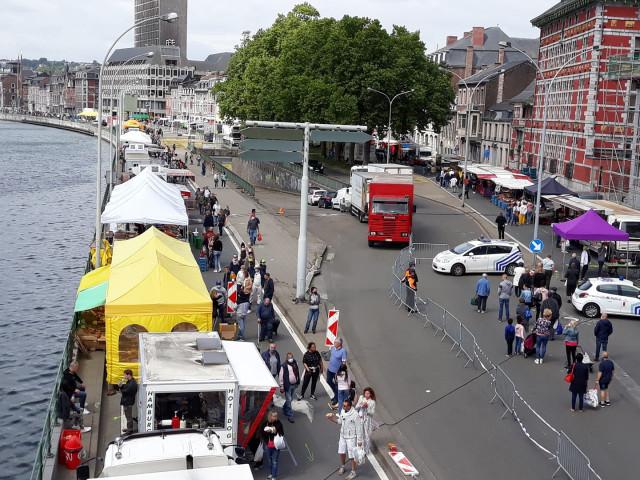 Quelques milliers de visiteurs retrouvent le chemin de la Batte