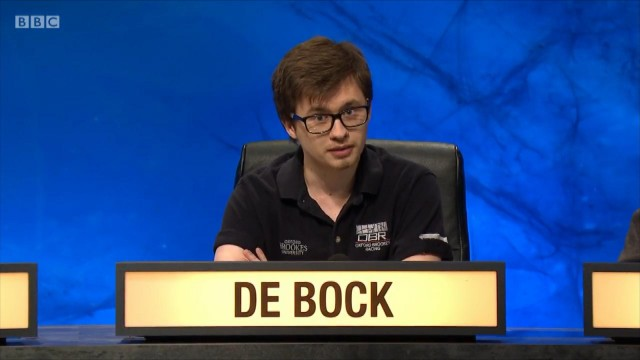 Un jeune liégeois assure dans un quizz de la BBC
