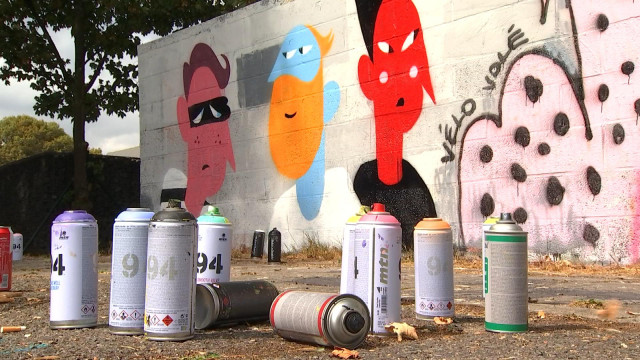 R Battle, le graffiti comme mode d'expression