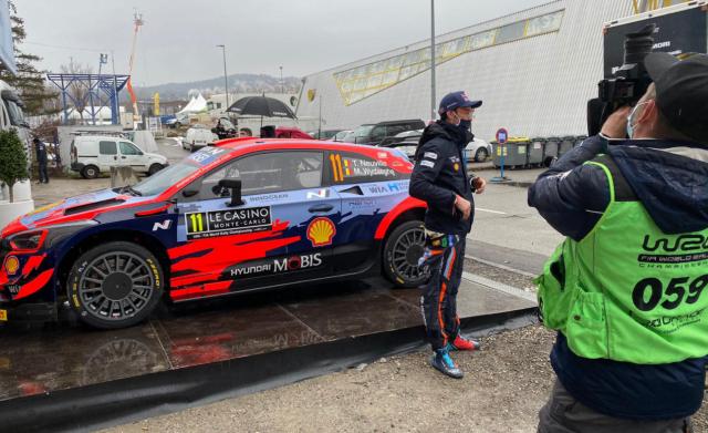 Rallye Monte-Carlo: Neuville 4e à l'issue de la 1ère journée