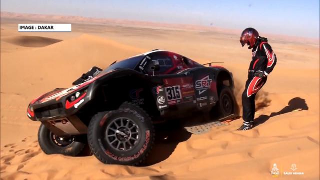 Rallye-raid: Fabian Lurquin, un copilote de luxe!