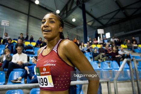 Record de Belgique à la longueur indoor pour Nafi Thiam