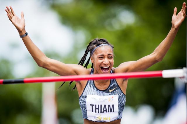 Record du monde pour Nafissatou Thiam !