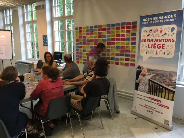 Réinventons Liège : plus de 700 idées déjà