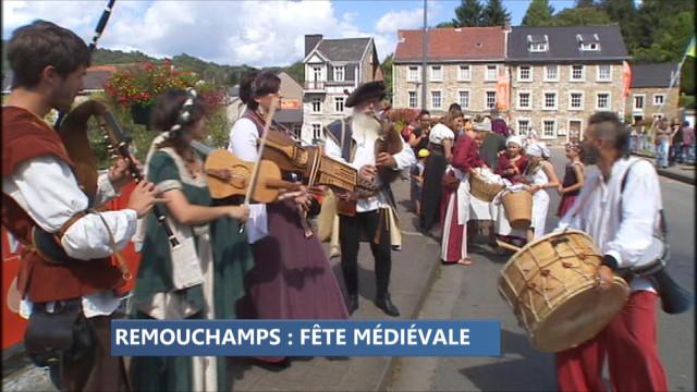Remouchamps : bientôt la fête médiévale