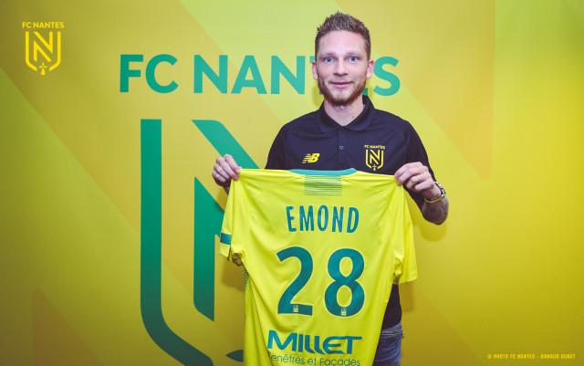 Renaud Emond au FC Nantes jusqu'en 2022