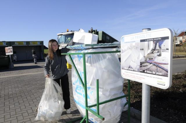 Réouverture progressive des recyparcs du Condroz