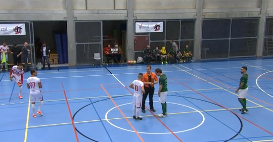 Replay: futsal: Herstal 1453 - Celtic Visé
