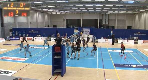 Replay du match VBC Waremme - Gand