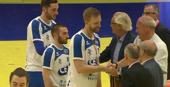 Replay : finale de la coupe de Belgique de handball : Hasselt - HC Visé