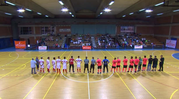 Replay : futsal coupe Roger Vrijens