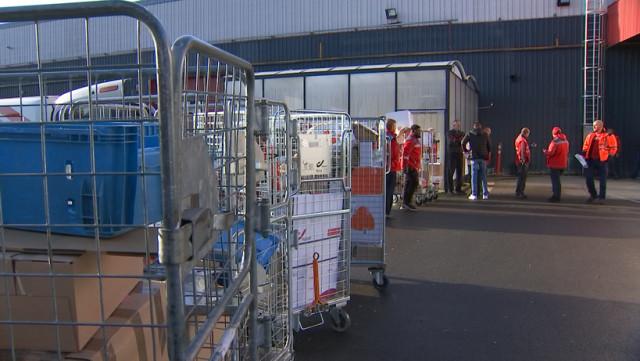 Reprise du travail chez Bpost à Liège après cinq jours de grève