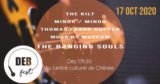 Résolument rock le Deb Fest#3 se déroulera au centre culturel de Chênée