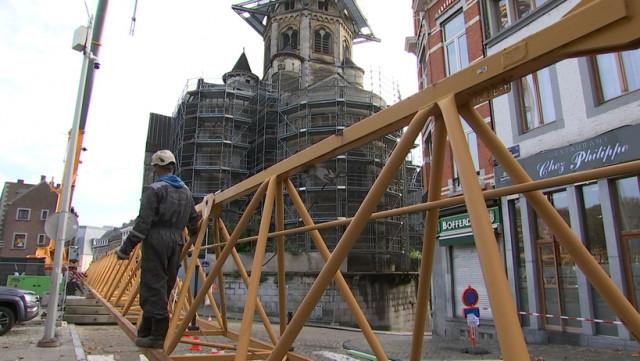 Restauration de la Collégiale Sainte Croix