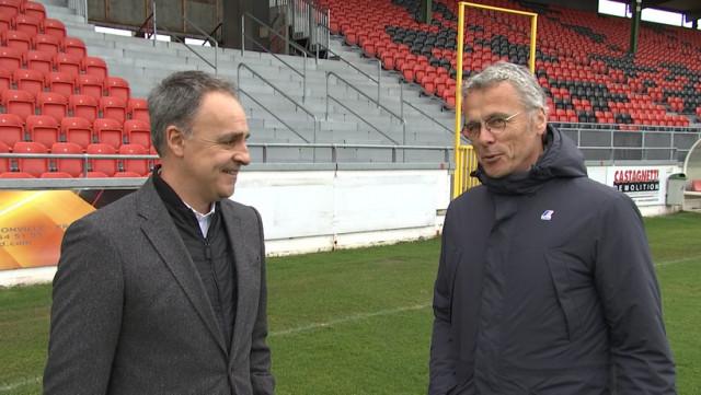 RFC Seraing: un duo Ferrera - Grosjean à la tête de l'équipe