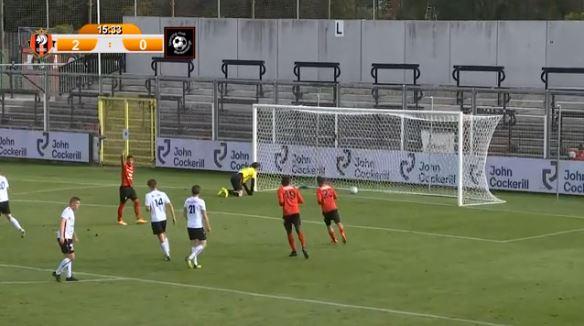Le RFC Seraing a inondé de buts Blankenberge !