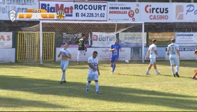Le RFC Tilleur n'a pas résisté face à Knokke