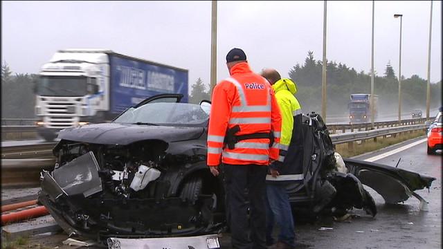 Routes liégeoises : moins de morts et d'accidents