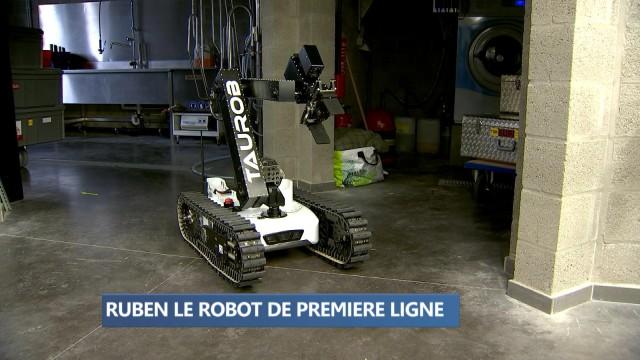 Ruben: le robot de première ligne de la protection civile
