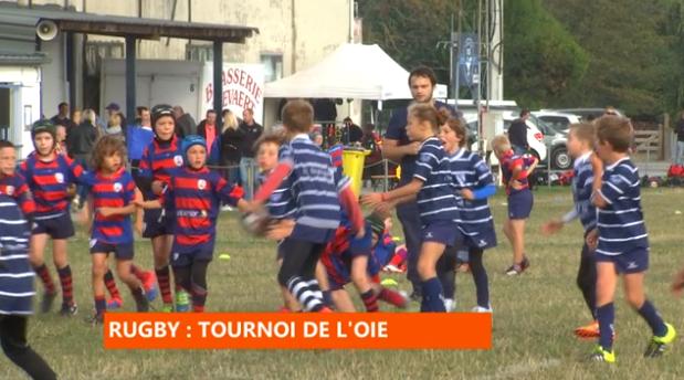 Rugby, tournoi de l'oie à Visé