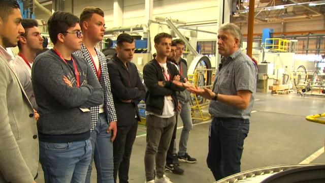 Safran Aero Boosters se dévoile à des collégiens