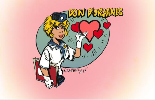 Saint Valentin, dites oui ... au don d'organes !