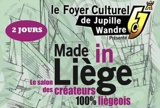 """Le salon des créateurs """"Made in Liège"""" à Jupille"""
