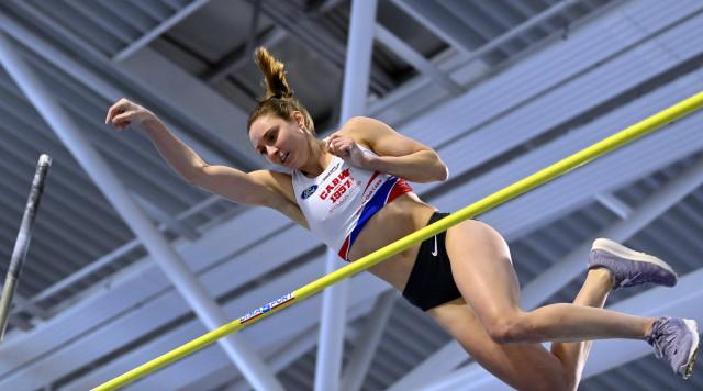 Saut à la perche: Fanny Smets améliore son record de Belgique