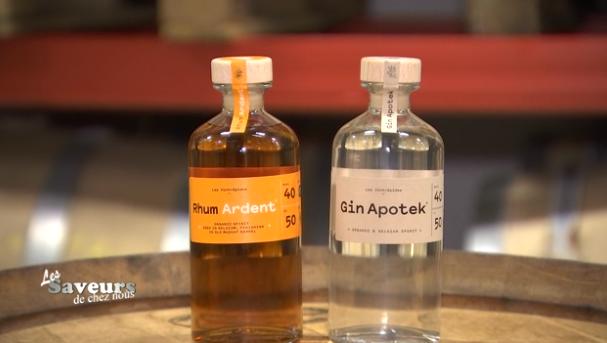 Saveurs de chez nous : Gin Apotek et Rhum Ardent