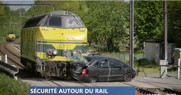 Sensibilisation aux dangers du rail à Esneux