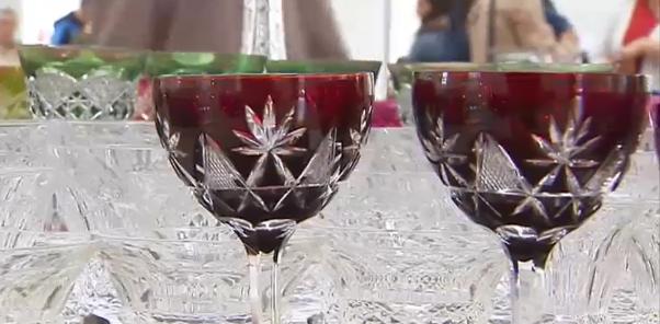Seraing : la foire du verre au Val-Saint-Lambert