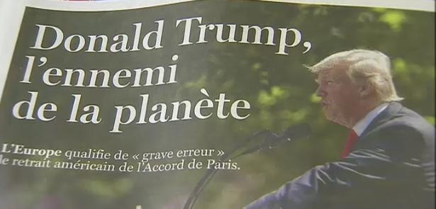 Sortie de l'accord de Paris pour les USA. Absurde pour le climatologue Pierre Ozer