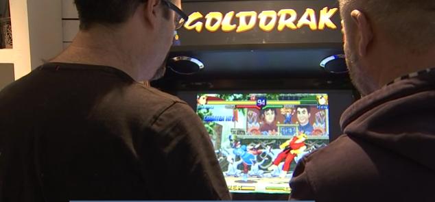 Sprimont : bornes Arcade faites maison !