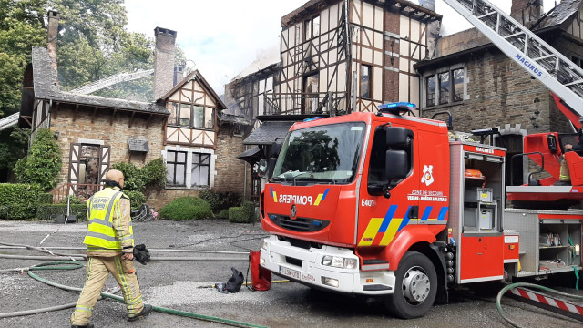 Sprimont : L'ensemble de la ferme-château Presseux est ravagé