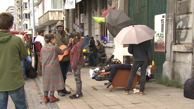 Saint Léonard, les squatteurs résistent
