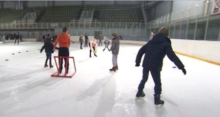 Stage de patinage à la patinoire de Liège