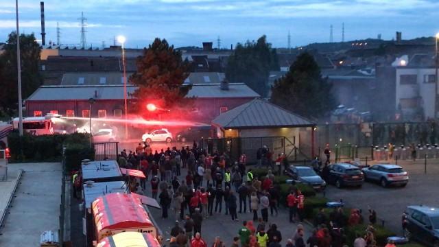 Standard : réactions après les incidents en marge du match contre Charleroi (vidéo)