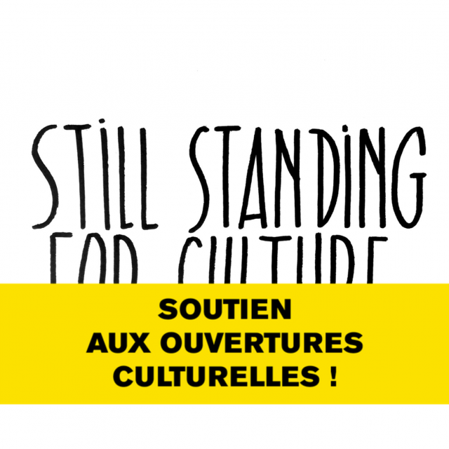 Still Standing for Culture : les actions à Liège, Huy et Sprimont