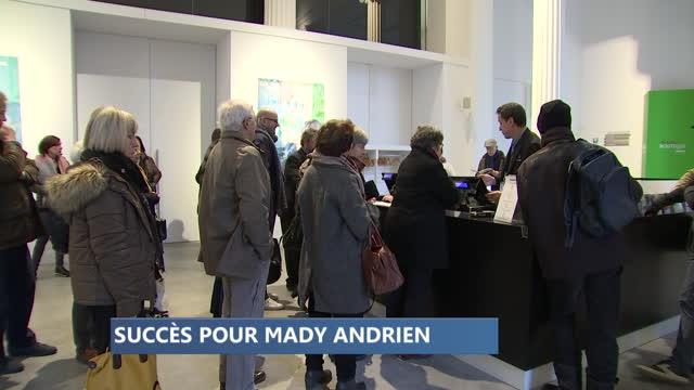 Succès pour la rétrospective de Mady Andrien à la Boverie
