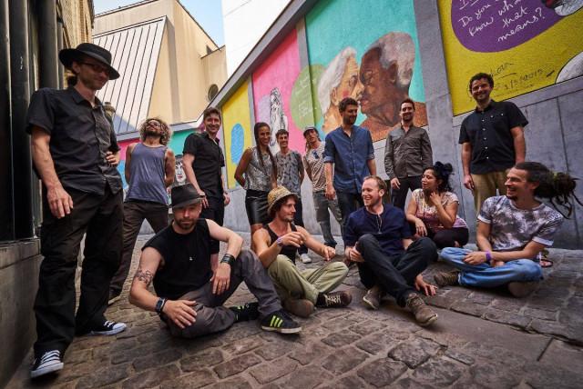 Sysmo : 15 percussionnistes au Manège Fonck