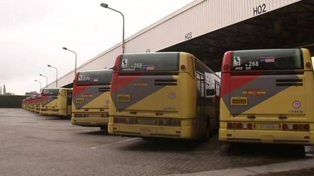 TEC : les bus sont restés au dépôt !